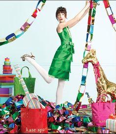 Kate Spade Holiday website