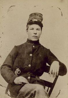"Martin Norda, 15th Wisconsin ""Scandinavian"" Regiment | Photograph | Wisconsin Historical Society"
