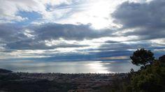 #Felizsábado con estas espectaculares vistas de #Benicàssim desde el Centro de #Espiritualidad #DesiertodelasPalmas