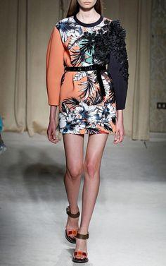 Aquilano.Rimondi Spring/Summer 2014 Trunkshow Look 26 on Moda Operandi