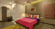 കൗതുകങ്ങൾ നിറയുന്ന വീട്, ഒപ്പം വാസ്തുവും! വിഡിയോ   Home Plans Kerala   House Plans Kerala   Home Style   Manorama Online Kerala Houses, Kerala House Design, Brick Architecture, House Plans, How To Plan, Contemporary, Bedroom, House Styles, Bricks