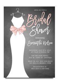 wedding dress bridal shower invitation chalkboard wedding dress invitation bridal shower invitation cheap bridal