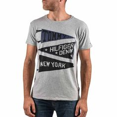 ΜΠΛΟΥΖΑΚΙ T-SHIRT ΑΝΔΡΙΚΟ TOMMY HILFIGER Tommy Hilfiger, Polo, Mens Tops, T Shirt, Fashion, Supreme T Shirt, Moda, Polos, Tee