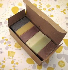 Natural Spa Soap Sampler with Fresh Fruits & by SudzSoaps on Etsy