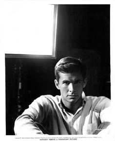 Anthony Perkins, 1956 via theniftyfifties