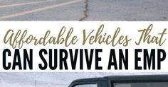Affordable Vehicles That Can Survive an EMP - What really blew me away was the fact that this articles features exact models and makes as well as estimated values for those vehicles. You will come away from this article with some answers to the overwhelming power of an EMP attack. Just having access to a vehicle give you a leg up on those around you. As long as you don't get killed for it. for https://handbooking.tech.blog