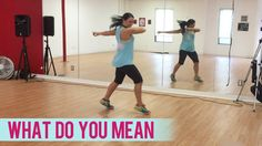 """Here's another fun Dance Fitness with Jessica workout to Justin Bieber's HIT song, """"What Do You Mean""""! Also, don't forget to sign up for my live stream class..."""