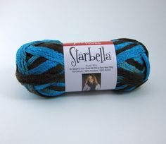 This color has been discontinued by the manufacture.  Get it before it's gone! Starbella Ruffle Scarf Yarn by Premier: Athens by PurpleOkapiStudio, $6.75