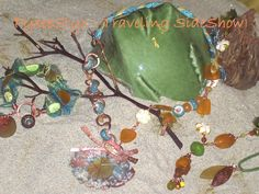 """Summer Breeze"" cultured sea glass collection - a ZnetShows design team challenge"