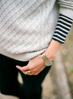 knit & stripes