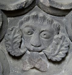 Green Man, Hereford Cathedral.