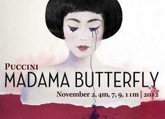 Madama Butterfly set design | Madama Butterfly poster