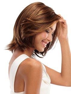 layered hair styles for medium length simple hair