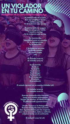 """""""El violador eres tú"""", entonan cientos de feministas en la CDMX y todo el mundo"""