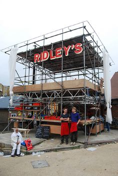 Ridley's Temporary Restaurant - the-decorators+ Atelier Chan Chan