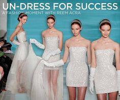 Reem Acra: Undress for Success