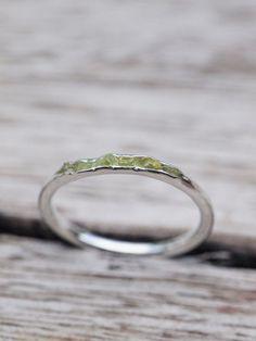 Arizona Peridot Ring // Hidden Gems