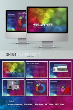 #Creativity #Powerpoint Template - PowerPoint #Templates #Presentation Templates Download here: https://graphicriver.net/item/creativity-powerpoint-template/134922?ref=alena994