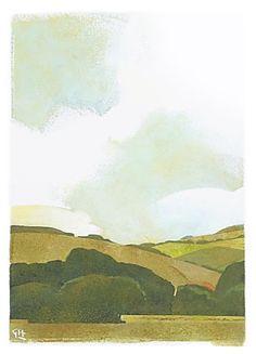 C r e a t i v e   W o n d e r: Airy countryside paintings . . . Greg Hargreaves