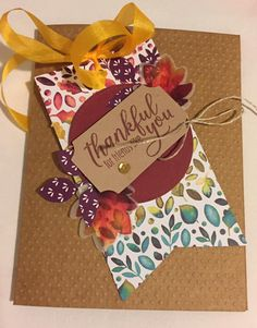 August 2019 Paper Pumpkin kit tag and July kit card back. August 2019 Paper pumpkin kit label and July kit … Stampin Up Paper Pumpkin, Pumpkin Cards, Thanksgiving Cards, Fall Cards, Christmas Paper, Stampin Up Cards, Cricut Cards, Stamping Up, Paper Goods