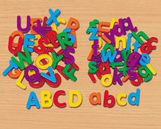 1000 images about gifts for 4 year olds on pinterest 4 for Magnetic letters for 1 year old