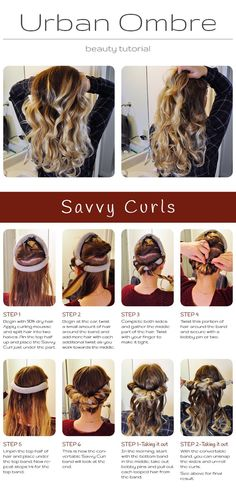 Best ever no heat curls! These even work with extensions and extra thick hair.
