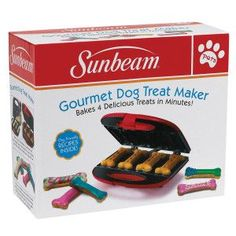 Sunbeam® Pets Dog Treat Maker - PetSmart - got this for Christmas. Girls love it and it has great recipes to mix it up
