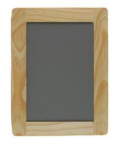 Love this 6'' Wood Frame Blackboard - Set of Six on #zulily! #zulilyfinds