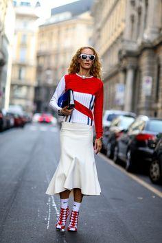Mix Master // Street Style Spotlight: Elina Halimi