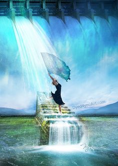 Living water flowing down stairs from heaven and lady dancing worshiping the Lor… – En Güncel Araba Resimleri Worship Dance, Praise Dance, Praise And Worship, Christian Artwork, Christian Pictures, Bible Pictures, Bride Of Christ, Prophetic Art, Lion Of Judah