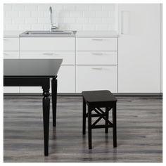 IKEA - INGOLF Stool brown-black
