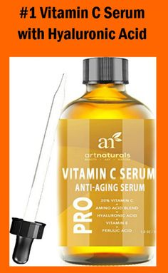 Best-Selling Vitamin C Serum with Hyaluronic Acid