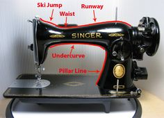 The Vintage Singer Sewing Machine Blog: A Visual Guide to Identifying Singers from Crappy Craigslist Photos, Part 1 of 5.