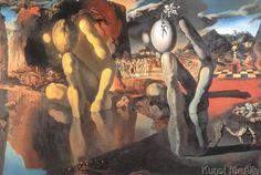 Salvador Dalí - Metamorphosis of Narcissus, 1937