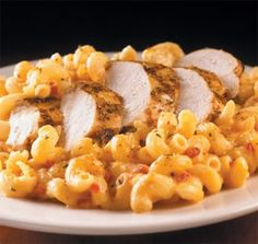 Twisted Mac, Chicken and Cheese (like my favourite Hard Rock Cafe meal!)