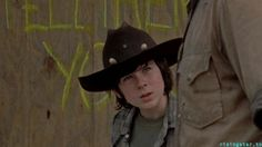 Chandler Riggs in TWD