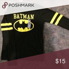 Batman Longsleeve shirt NWT Long sleeve Batman shirt from Hot Topic. Never worn. Still has tags. Hot Topic Tops Tees - Long Sleeve