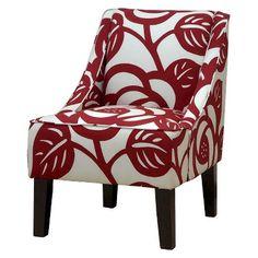 Seedling by Thomas Paul Swoop Chair - Dec Rose Red