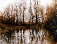 Jeremy Winborg Art, LLC - Millville Pond, $130.00 (http://www.jeremywinborg.com/landscapes/millville-pond/)