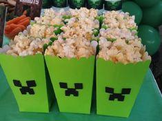 Minecraft Birthday Card, Minecraft Cake, Minecraft Crafts, Minecraft Kunst, Mindcraft Party, Minecraft Party Decorations, Cake Templates, Minecraft Creations, 6th Birthday Parties
