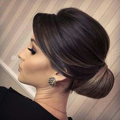 Pin on Hair and beauty Wedding Hairstyles For Long Hair, Elegant Hairstyles, Bride Hairstyles, Bridal Hairdo, Bridal Hair And Makeup, Hair Makeup, Mother Of The Bride Hair, Glam Hair, Wedding Hair Inspiration