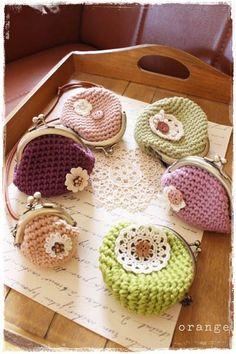 crochet purse-non tutorial