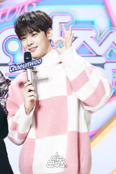 Cha EunWoo como MC via Naver [130118]