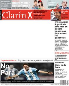 clarin Ricardo Darin, 2012 Calendar, Breaking Bad, Clarinet, Journals, Cover Pages, Celebs