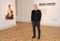 Bryan Adams attends the private view of 'Wounded: The Legacy of War' at Somerset House on Remembrance Day, November 11, 2014 in London, England. The photography exhibition by Bryan Adams of young wounded servicemen and women from the Iraq and Afghanistan conflicts opens to the public on Wednesday 12th November and runs until Sunday 25th January 2015.