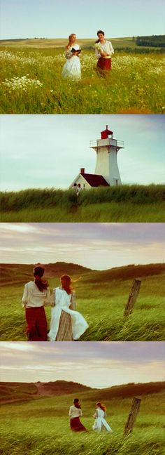 Anne of Green Gables   Adored this book growing up. I'm moving to Prince Edward Island one day :)