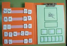 Per treballar la consciència fonològica. paraula, sil·laba.lletra.
