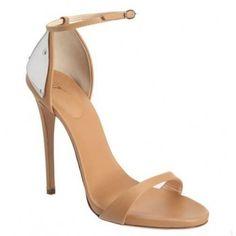 $178  Giuseppe Zanotti metal embellished sandals