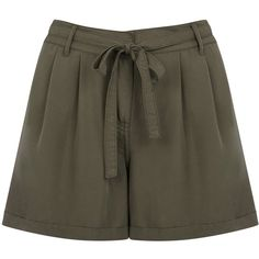 OASIS Soft Utility Short ($16) ❤ liked on Polyvore featuring shorts, green, green camisole, green cami, green shorts and utility shorts