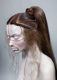 ETHNO FUTUR mua Valeriya Kutsan, hair Irina alexeeva, photo Vitaliy Platunov